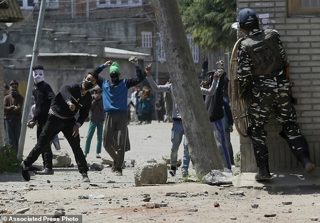 Image result for Kashmir: It will be challenging for the security forces Sunday