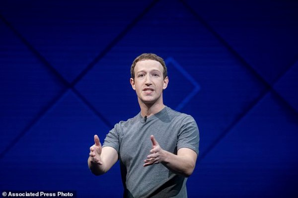 Facebook CEO wants to augment your reality   Daily Mail Online