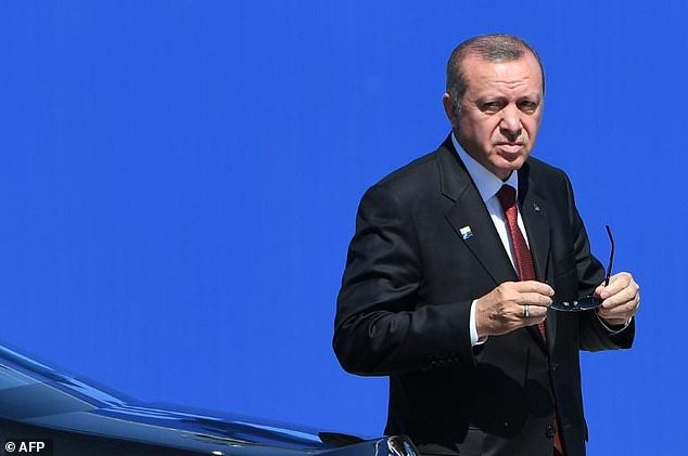 Turkish President Recep Tayyip Erdogan said he had suffered from a blood pressure issue due to a sugar imbalance in the body