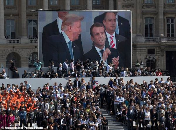 Macron: My charm offensive may soften Trump's climate ...
