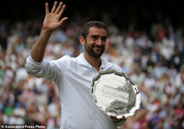 Cilic in pain and tears in Wimbledon final against Federer ...