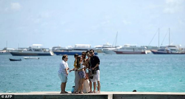 The Maldives' image as a tourism paradise is being tarnished by political unrest