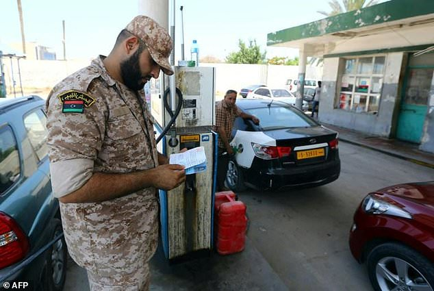 Fuel supply to Libya's capital is regularly interrupted by militia or striking employees