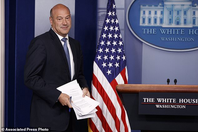 White House chief economic adviser Gary Cohn briefed the press at the White House on Thursday but wouldn't promise that every middle-class U.S. family would get a tax cut