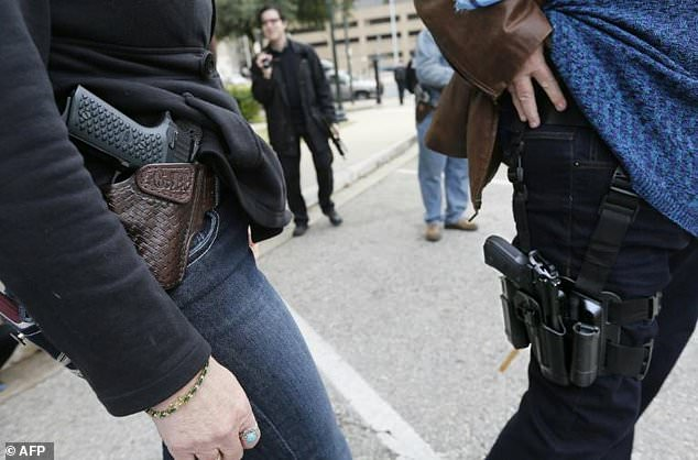 Around 3 Million Americans carry loaded handguns daily