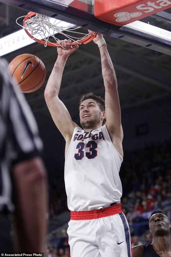 Tillie leads No. 17 Gonzaga over Utah State 79-66 | Daily ...