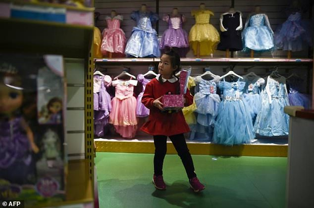 Christmas has emerged as a popular occasion for China's increasingly affluent middle class to exchange gifts