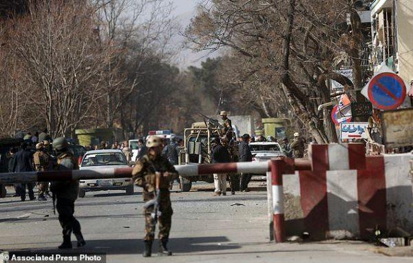 Bomber in ambulance detonates at Afghan checkpoint; 95 ...