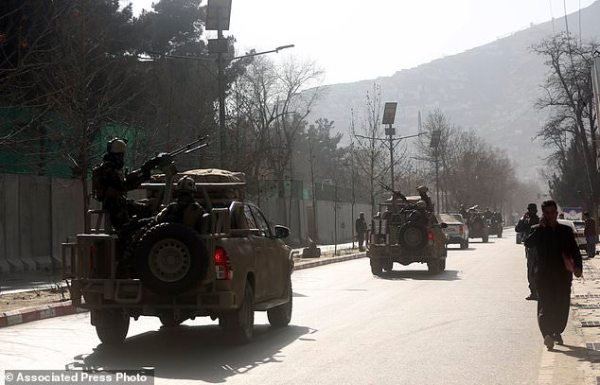 Bomber in ambulance detonates at Afghan checkpoint; 95 ...