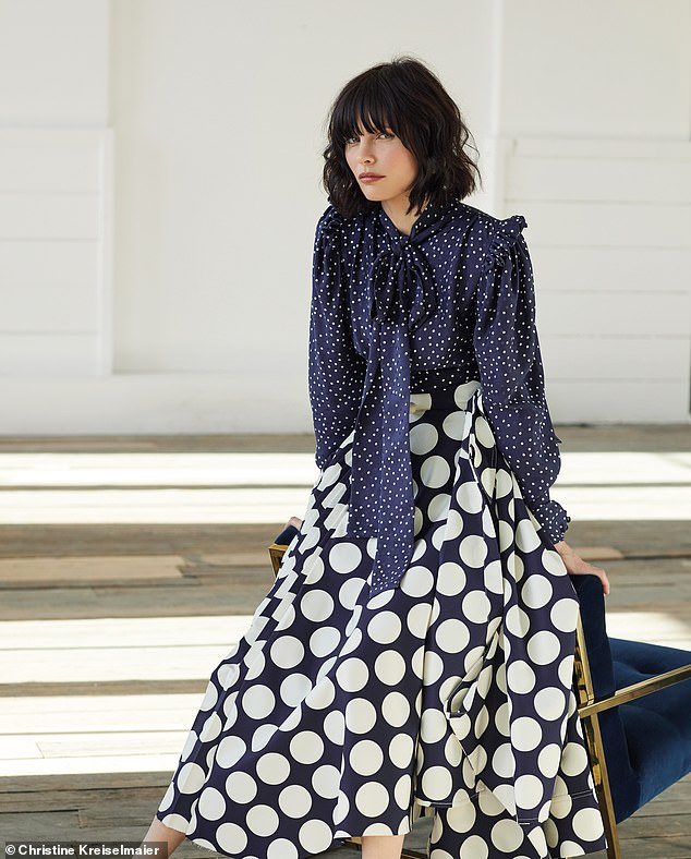 Blouse, £315, Magda Butrym. Skirt, £695, Awake, from matchesfashion.com