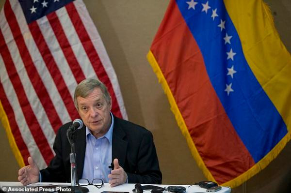 US senator meets with Venezuelan president, jailed Utah ...