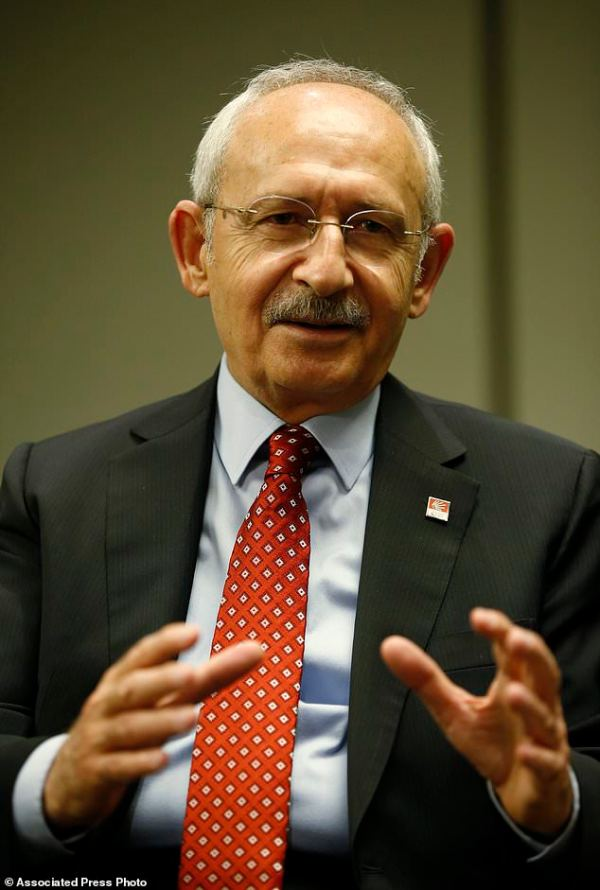 Opposition leader predicts Turkish voters will oust ...