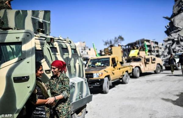 Some US-backed Kurdish fighters return to fight IS ...