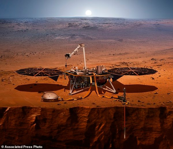 Nasa Mars InSight rover could reveal secrets inside the