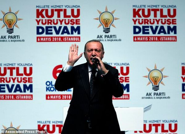 In election manifesto, Erdogan vows new military campaigns ...