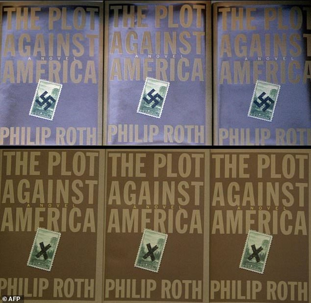 """Philip Roth's 2004 novel """"The Plot Against America"""" imagines Charles Lindbergh, an aviator with pro-Nazi leanings, defeating Franklin D. Roosevelt in 1940"""
