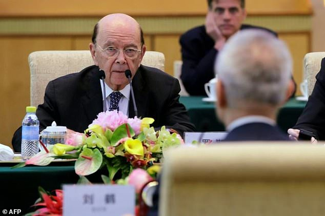US Commerce Secretary Wilbur Ross, who announced a deal to ease sanctions on Chinese firm ZTE, denies any link between that deal and wider trade talks