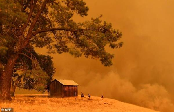 Californian wildfires spreading rapidly | Daily Mail Online
