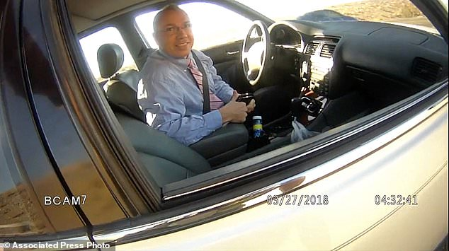 Arizona State Rep. Paul Mosley was caught on body cam telling a police officer he sometimes drives up to 140km an hour on his trips home from the capitol