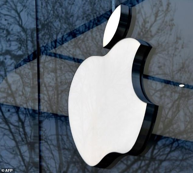 Experts believe Apple could well cross the $1 trillion (£0.76 trillion) finish line after it releases its quarterly results Tuesday (file photo)