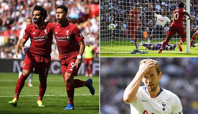 Tottenham 1-2 Liverpool: Wijnaldum and Firmino extend Reds unbeaten run