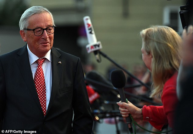 President of the European Commission Jean-Claude Juncker said the EU and UK were 'far away' from a deal at the moment