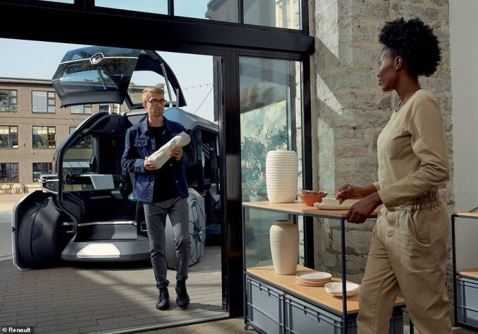 In automatic mode, the concierge can focus on other tasks, such as supervising itinerary planning and monitoring driverless robo-pods.They can also ensure efficient and premium customer service, such as in-person delivery of groceries or fragile objects
