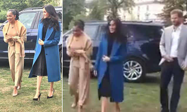 Meghan's mother Doria joins her at Kensington Palace for first time