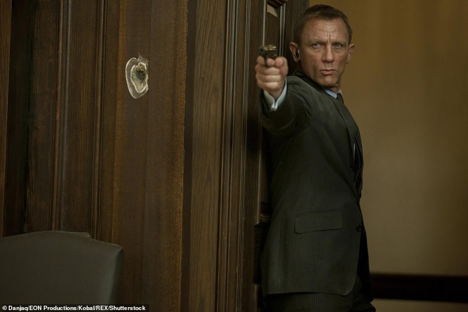 Have you got what it takes to tangle with the likes of 007? Sinclair McKay, author of Secret Service Brainteasers, has shared a few conundrums used by the secret service in recruitment tests. Pictured here is Daniel Craig playing James Bond in Skyfall