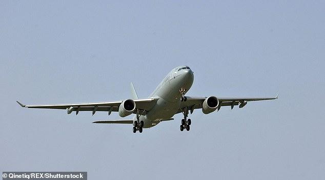 Eine RAF-Voyager kreisen über der Nordsee und Berichten zufolge flog eine Gruppe russischer Flugzeuge in Richtung des britischen Luftraums. Datei Foto