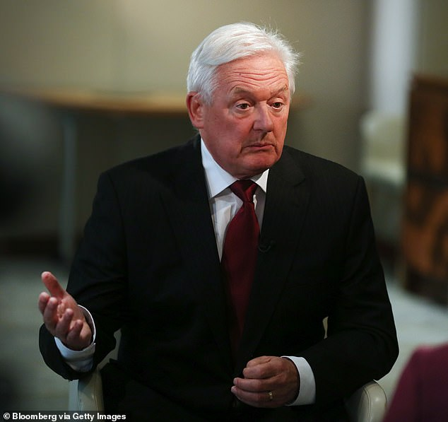 Barclays chairman John McFarlane (pictured) said it was 'inconceivable' that the all of the PPI compensation claims which had fueled a 'flat-screen television 'buying spree were legitimate