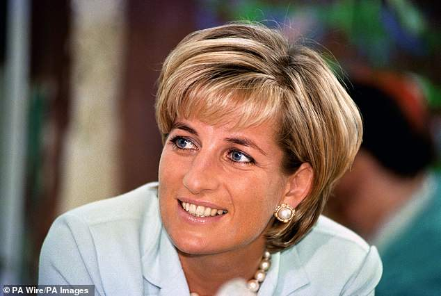 Simone Simmons, who was a friend of Diana (pictured) before she died in a 1997 car crash, described the outfit was 'twisted' and she hopes 'people boycott' the site
