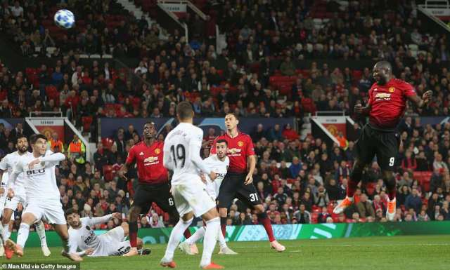 Lukaku had an opportunity with a header late on in the game but his effort did not manage to break the deadlock