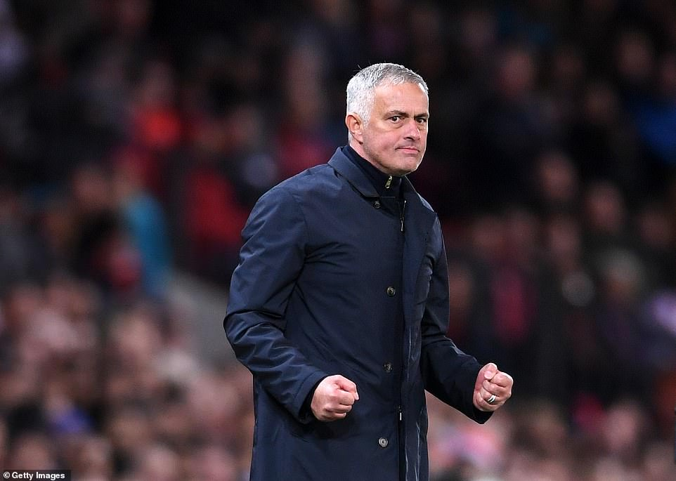United boss Mourinho was delighted to see his side show great spirit in the second half to take all three points on Saturday