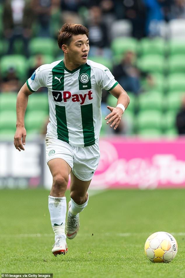 FC Groningen's Japanese attacking midfielder Ritsu Doan also made the final shortlist