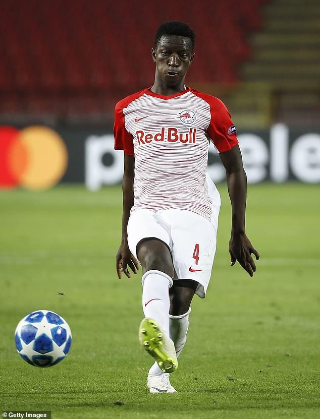 Amadou Haidara helped Red Bull Salzburg to the Europa League semi-finals last season