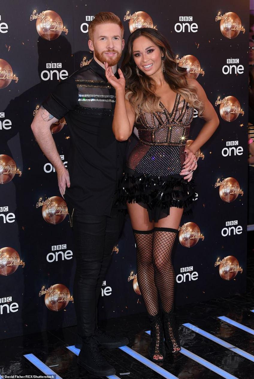 Married: Russian pro Katya, 29, tied the knot to fellow dancer Neil Jones in August 2013