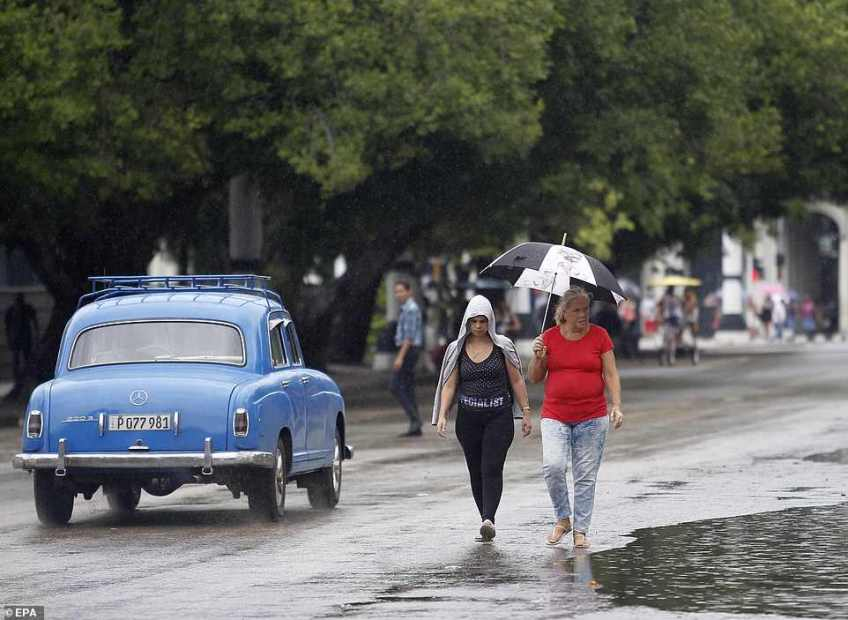 Cuban authorities decreed the first phase of the hurricanes protocol in five west provinces including Havana