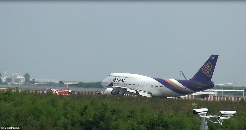 Thai Airways said that 'the company will cooperate with relevant agencies to accelerate the investigation of the incident'