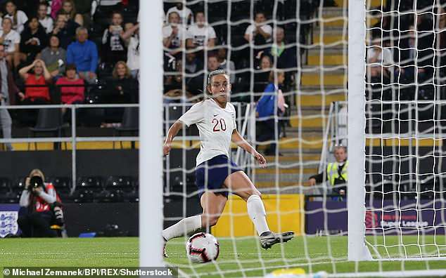 Given a start against Australia, Lucy Staniforth's goal is ruled out for a controversial offside