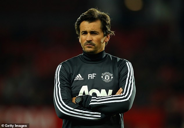 Former Manchester United assistant Rui Faria was linked with the vacancy at Aston Villa