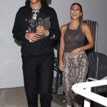 Kourtney Kardashian dons sheer top for a date with Luka Sabbat