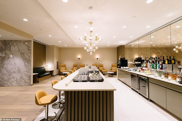 Carolina Martinoli, British Airways' director of brand and customer experience, said: 'We hope our guests enjoy using the new facilities as much as we've enjoyed designing them'