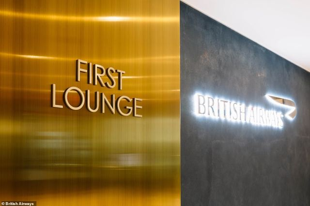 The new British Airways first class lounge at JFK is open to gold cardholders and those travelling in the first class cabin