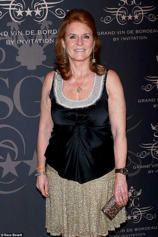 The Duchess of York has also has another new role to celebrate, as brand ambassador for a colourful Italian diet guru, following on from her role as a WeightWatchers spokesperson