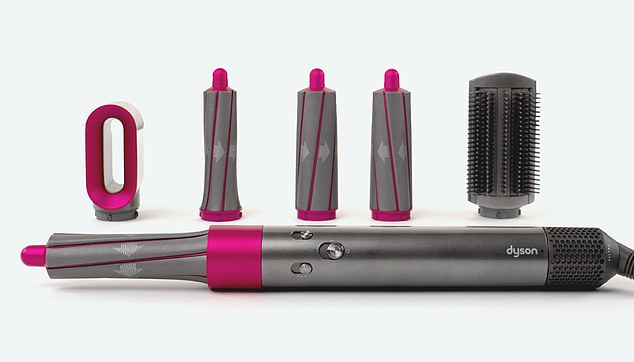 Dyson enthüllte, dass es das neueste Gadget ist, das Airwrap, das die Haare kräuselt, glättet und wellt, ohne extreme Hitze zu benutzen