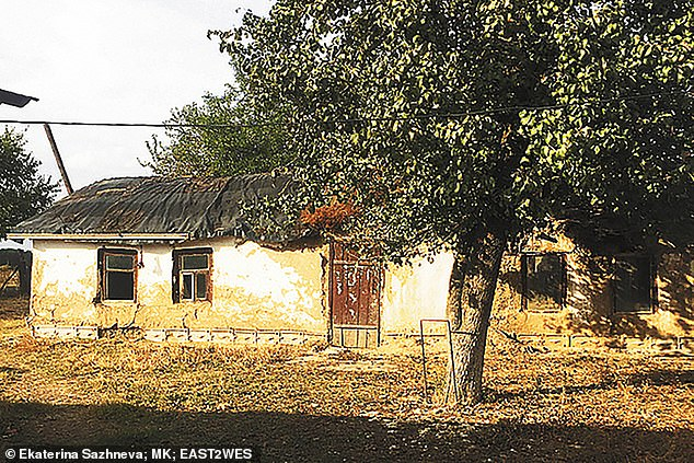 After Stalin's fall she was allowed to return to her native home and built this house herself