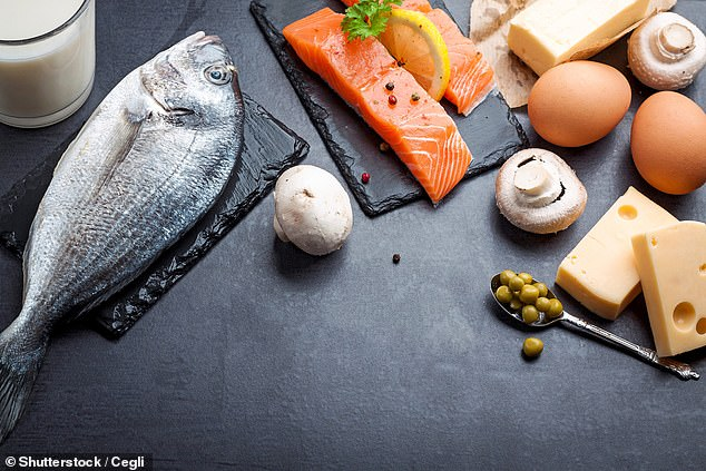 Small amounts of vitamin D can be found in foods such as fatty fish, offal and eggs. But it is actually a hormone that is mainly produced by the body
