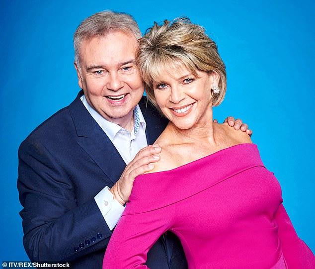 TV's Eamonn Holmes and Ruth Langsfor (pictured) are testing the quick test for snoring and insomnia