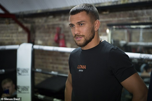 He is preparing to unify the WBO and WBA titles in his next fight on Dec 8 against Jose Pedraza